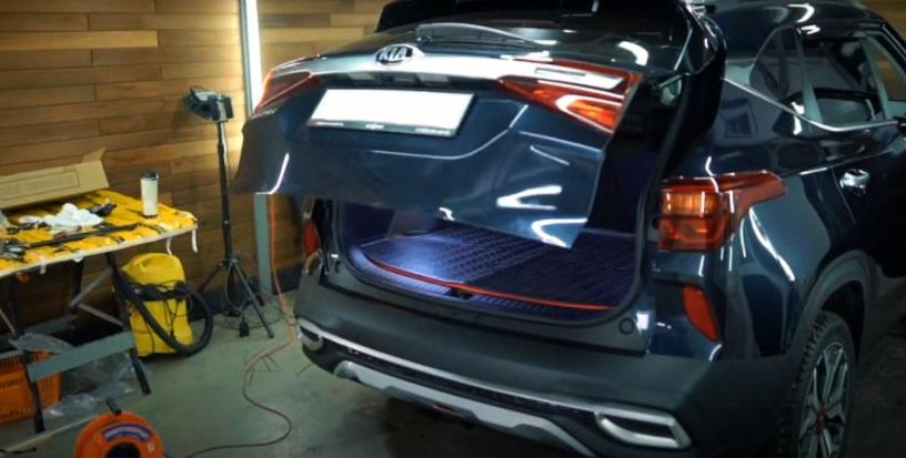 Электропривод двери багажника КИА Селтос